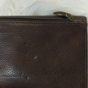 Fossil Bags - FOSSIL Tri-Fold Leather Wallet with Original Box